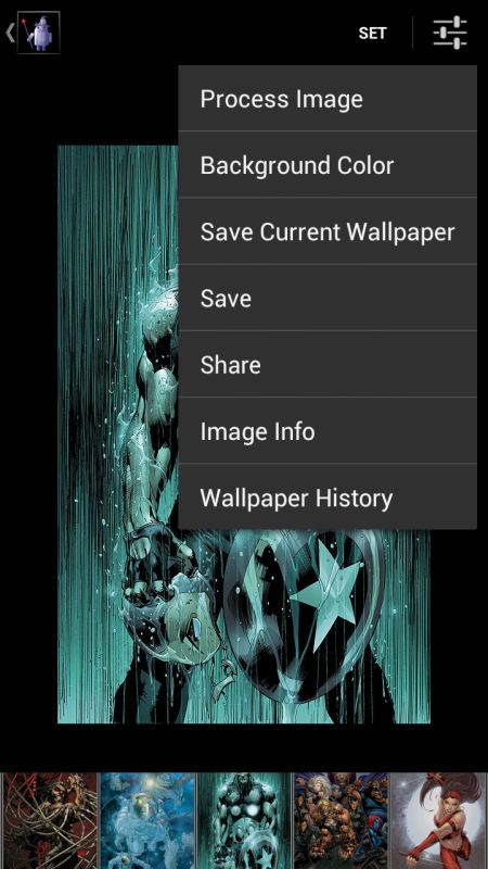 Wallpaper Wizardrii App Screenshots 3